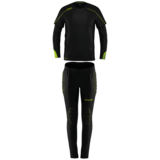Stream 22 Goalkeeper Set Junior - Zwart/fluo geel_