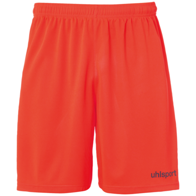 Center Basic Shorts - Fluo rood/marine