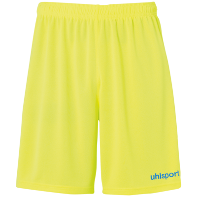 Center Basic Shorts - Fluo geel/radar blauw
